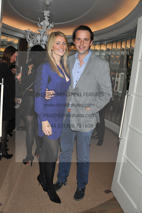 CHARLIE GILKES and ANNEKE VON TROTHA TAYLOR at The Great Initiative event in association with jewellers Boodles held at The Corinthia Hotel, London on 6th November 2012.