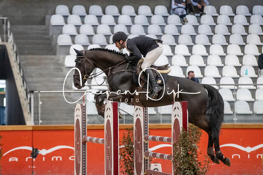 Claeys Jan, BEL, Jewel's Fee de Septon<br /> Pavo Hengsten competitie - Oudsbergen 2021<br /> © Hippo Foto - Dirk Caremans<br />  22/02/2021