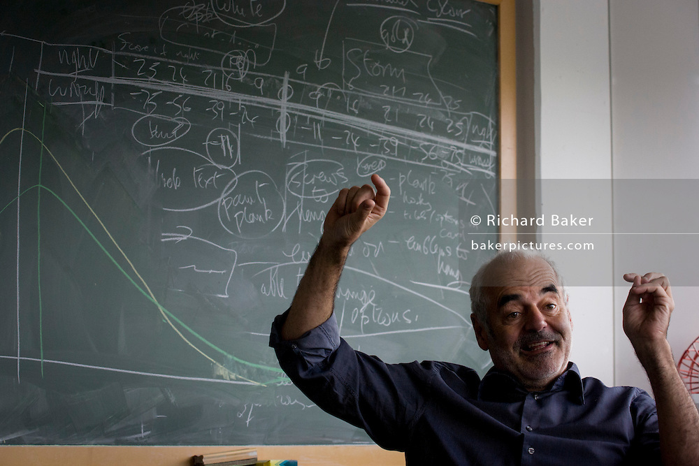 Mathematician and Risk guru, Professor Sir David Spiegelhalter at the Centre for Mathematical Sciences at the University of Cambridge. <br /> <br /> From the chapter entitled 'Possible Futures' and from the book 'Risk Wise: Nine Everyday Adventures' by Polly Morland (Allianz, The School of Life, Profile Books, 2015).