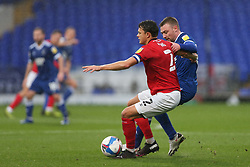 Perry Ng of Crewe Alexandra holds off a challenge from Freddie Sears of Ipswich Town - Mandatory by-line: Arron Gent/JMP - 31/10/2020 - FOOTBALL - Portman Road - Ipswich, England - Ipswich Town v Crewe Alexandra - Sky Bet League One