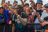 Russ Millions  at the Reading festival 2021 photo by Mark Anton Smith