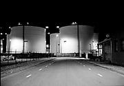 Industriegebied Europoort opslagtanks