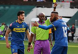 PSL: Referee Thando Ndzandzeka Roland Putsche and Taariq Fielies - Cape Town City v Kaizer Chiefs, 15 September 2018