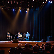 NHPR's Virginia Prescott interviews Stacy Schiff in a Writers On A New England Stage show at The Music Hall in Portmouth, NH