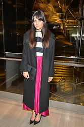 LILAH PARSONS at the Veryexclusive.co.uk Launch Party held at Watches of Switzerland, 155 Regents Street, London on 20th February 2015.