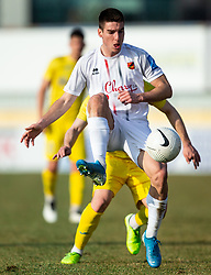 Leon Sever of Sezana during football match between NK Domzale and NK CB24 Tabor Sezana in 22nd Round of Prva liga Telekom Slovenije 2020/21, on February 21, 2021 in Sports park Domzale, Slovenia. Photo by Vid Ponikvar / Sportida