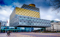 Birmingham Repertory Theatre in Centenary Square, Birmingham, England<br /> <br /> (c) Andrew Wilson | Edinburgh Elite media