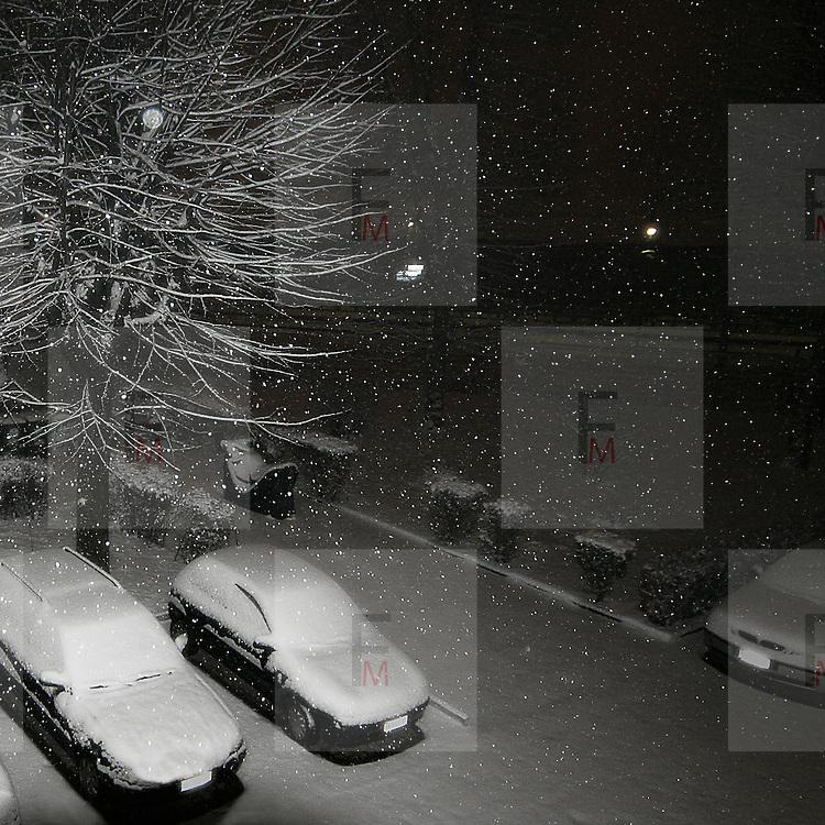 Milano sotto la neve a gennaio 2009<br /> <br /> Snow in Milan