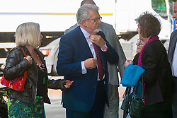 London, June 17th 2014. Veteran entertainer and artist Rolf Harris arrives at Southwark Crown Court where his trial on 12 counts of indecent assault against 4 girls aged 7 to 19 nears its end.