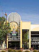A street view of the Invercargill Library, Invercargill, New Zealand