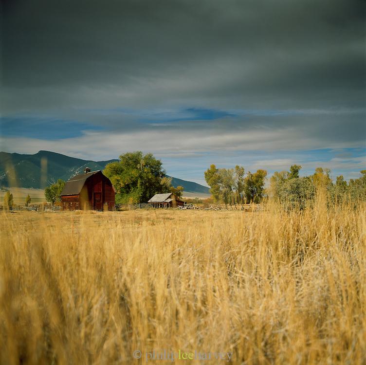 A ranch in Montana, USA