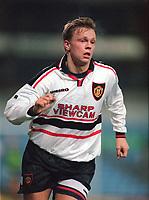 Fotball<br /> Norske spillere i England<br /> Foto: Colorsport/Digitalsport<br /> NORWAY ONLY<br /> <br /> Erik Nevland - Manchester United Res. Aston Villa Reserves v Manchester United Reserves, 7/1/98.