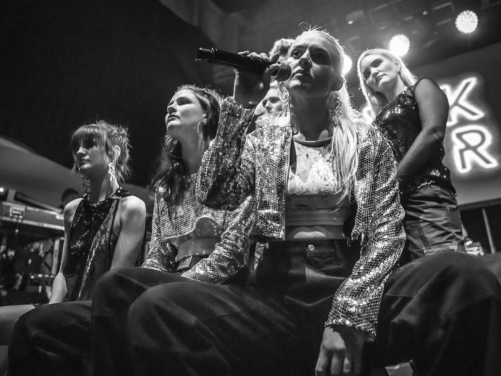 Icelandic all-female hip-hop collective Reykjavíkurdætur at Iceland Airwaves