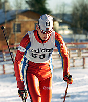 Langrenn, Adidas-cup junior, Ål 2000 klassisk stil. Jhon Anders Gaustad, Oppstad. Foto: Digitalsport