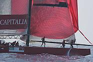 12: AMERICA'S CUP ITALY TEAM CAPITALIA ON SPINNAKER
