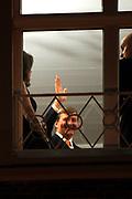 Koning Willem Alexander en Koningin Maxima ontvangen  de delegatieleiders van de Nuclear Security Summit (NSS) voor een diner op Paleis Huis Ten Bosch in Den Haag.<br /> <br /> King Willem Alexander and Queen Maxima receive the heads of delegation of the Nuclear Security Summit (NSS) for a dinner at the palace Huis Ten Bosch in The Hague.<br /> <br /> Op de foto / On the photo:  Koning Willem Alexander