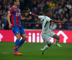 October 14, 2017 - London, England, United Kingdom - Chelsea's Charly Musonda Jr..during Premier League  match between Crystal Palace and Chelsea at Selhurst Park Stadium, London,  England on 14 Oct 2017. (Credit Image: © Kieran Galvin/NurPhoto via ZUMA Press)
