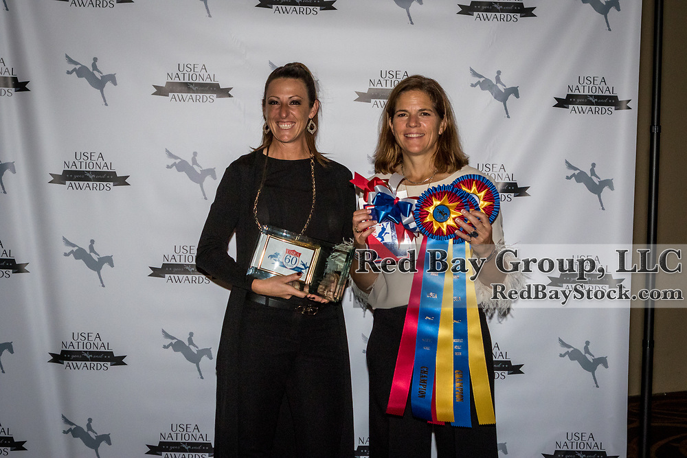 Katie Malensek and Max Corcoran at the USEA Awards Dinner held during the US Eventing Association Annual Convention in Boston, MA.