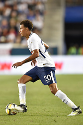 July 25, 2017 - Harrison, New Jersey, U.S - Tottenham Hotspur FC midfielder DELE ALLI (20) is seen during International Champions Cup action at Red Bull Arena in Harrison New Jersey AS Roma defeats Tottenham Hotspur 3 to 2 (Credit Image: © Brooks Von Arx via ZUMA Wire)