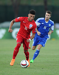 Alex Oxlade-Chamberlain of England (Arsenal)  - Mandatory byline: Joe Meredith/JMP - 07966386802 - 05/09/2015 - FOOTBALL- INTERNATIONAL - San Marino Stadium - Serravalle - San Marino v England - UEFA EURO Qualifers Group Stage