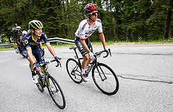 Jack Haig (AUS) of Orica - Scott and Rafal Majka (POL) of Bora - Hansgrohe during Stage 3 of 24th Tour of Slovenia 2017 / Tour de Slovenie from Celje to Rogla (167,7 km) cycling race on June 16, 2017 in Slovenia. Photo by Vid Ponikvar / Sportida