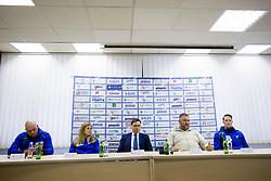 Press conference of Athletic association Slovenia before IAAF World Indoor Championship Birmingham 2018, on February 22, 2017 in Ljubljana, Slovenia. Photo by Urban Urbanc / Sportida