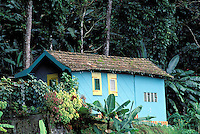 Balata - Traditional wooden house - Martinique (French département d'outre Mer - DOM) - France<br /> French West Indie - Antilles françaises<br /> Caribbean