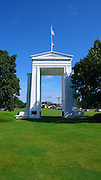 Peace Arch, U.S Canada Border