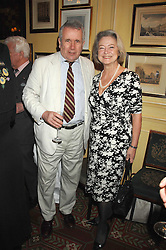 MARTIN BELL and KATE ADIE at the 2008 Oldie of The year Awards and lunch held at Simpsons in The Strand, London on 11th March 2008.<br /><br />NON EXCLUSIVE - WORLD RIGHTS