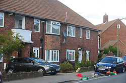 © Licensed to London News Pictures. 19/08/2018<br /> New Eltham, UK. The scene of a Hammer attack on two women in New Eltham, south east London. Police are currently searching for 27 year old Joe Xuereb in connection with the attack. <br /> Photo credit: Grant Falvey/LNP