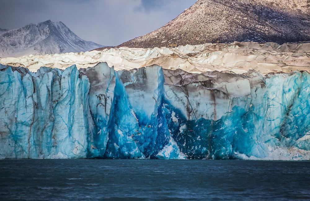 Viedma Glacier in Los Glaciares National Park, Argentina, Patagonia