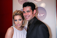 28 April 2006: Actor Garah Fath standing with Jason Cook of Days of Our Lives in the exclusive behind the scenes photos of celebrity television stars in the STAR greenroom at the 33rd Annual Daytime Emmy Awards at the Kodak Theatre at Hollywood and Highland, CA. Contact photographer for usage availability.