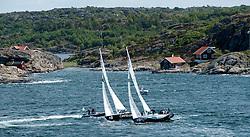 Iehl vs Bruni. Stena Match Cup Sweden 2010, Marstrand-Sweden. World Match Racing Tour. photo: Loris von Siebenthal - myimage