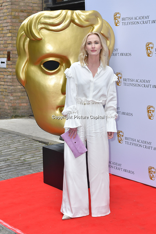 Genevieve O'Reilly Arrivers at the British Academy Television Craft Awards on 28 April 2019, London, UK.