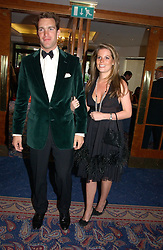 MR NICK VAN CUTSEM and CATHERINE LANGDON at the Boodles Boxing Ball in aid of the sports charity Sparks  organised by Jez lawson, James Amos and Charlie Gilkes held at The Royal Lancaster Hotel, Lancaster Terrae London W2 on 3rd June 2006.<br /> <br /> NON EXCLUSIVE - WORLD RIGHTS