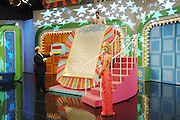 LOS ANGELES, CA - FEBRUARY 11:  Actor Drew Carey and a contestant on the set of The Price is Right Million Dollar Spectacular Primetime Special Hosted by Drew Carey taped on February 11, 2008 in Los Angeles, California. (Photo by Amy Graves/WireImage) *** Local Caption *** Drew Carey