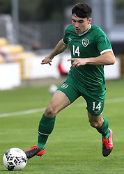 Republic of Ireland's Liam Kerrigan in action during the UEFA Under-21 Championship Qualifying Round Group F match at the Tallaght Stadium, Dublin. Picture date: Friday October 8, 2021.