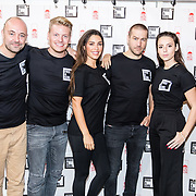 NLD/Amsterdam/20181105 - Lock me Up actie 2019, Niels Geusebroek, Gwen van Poorten, Yolante Sneijder, Dave Mantel, Thomas Berge