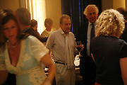 Lucian Freud, VIP opening of Bill Viola exhibition Love/Death: The Tristan project. Haunch of Venison, St Olave's College, Tooley St. London and Dinner afterwards at Banqueting House. Whitehall. 19 June 2006. ONE TIME USE ONLY - DO NOT ARCHIVE  © Copyright Photograph by Dafydd Jones 66 Stockwell Park Rd. London SW9 0DA Tel 020 7733 0108 www.dafjones.com
