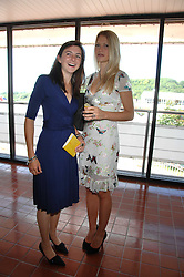 Left to right, VIOLET ELLIOT and LADY ALEXANDRA GORDON-LENNOX at the 4th day of the Glorious Goodwood racing festival 2007 held at Goodwood Racecourse, West Sussex on 3rd August 2007.<br /><br />NON EXCLUSIVE - WORLD RIGHTS