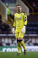 Burnley Goalkeeper Thomas Heaton looks on. Skybet football league Championship match, Burnley v Huddersfield Town at Turf Moor in Burnley ,Lancs on Saturday 31st October 2015.<br /> pic by Chris Stading, Andrew Orchard sports photography.