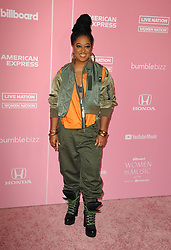 Rapsody at the 2019 Billboard Women In Music held at the Hollywood Palladium in Hollywood, USA on December 12, 2019.
