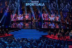 18-12-2019 NED: Sports gala NOC * NSF 2019, Amsterdam<br /> The traditional NOC NSF Sports Gala takes place in the AFAS in Amsterdam / Mathieu van der Poel, Sportman van het Jaar 2019 was niet aanwezig maar de prijs werd overhandigt door Bibian Mentel