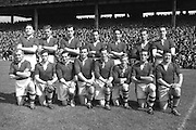 21/281-285..3081952AISFCSF..03.08.1952, 08.03.1952, 3rd August 1952...All Ireland Senior Football Championship - Semi-Final..Meath.1-6.Roscommon.0-7..Meath.Replay.K. Smyth, M. O'Brien, P. O'Brien, K. McConnell, T. O'Brien, C. Kelly, C. Hand, B. Maguire, D. Taaffe, D. Brennan, B. Smith, P. Meegan (Captain), M. McDonnell, J. Reilly, P. McDermott. Note: P. McGearty and P. Connell played in drawn game. T. O'Brien and D. Brennan came on for replay. .P. Meegan (Captain). ..Meath.Replay.K. Smyth, M. O'Brien, P. O'Brien, K. McConnell, T. O'Brien, C. Kelly, C. Hand, B. Maguire, D. Taaffe, D. Brennan, B. Smith, P. Meegan (Captain), M. McDonnell, J. Reilly, P. McDermott. Note: P. McGearty and P. Connell played in drawn game. T. O'Brien and D. Brennan came on for replay. .P. Meegan (Captain). .Football..................