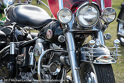 Harley-Davidson Panhead taken at the AMCA (Antique Motorcycle Club of America) Sunshine Chapter National Meet in New Smyrna Beach during Daytona Beach Bike Week. FL. USA. Saturday March 11, 2017. Photography ©2017 Michael Lichter.