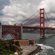 Golden Gate Bridge - Fort Point Overlook