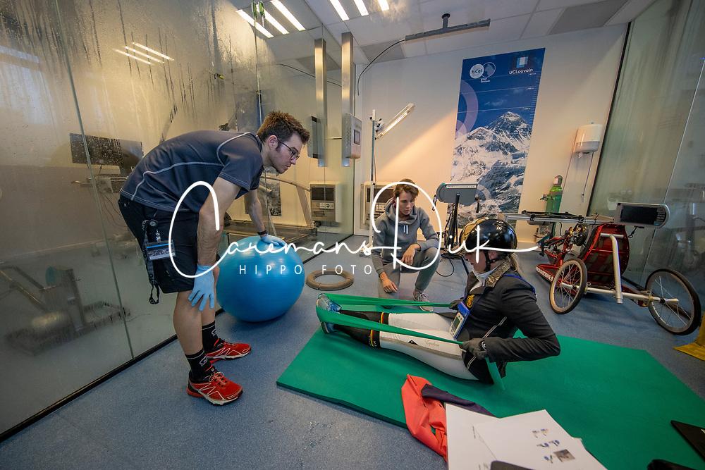 Claeys Manon, BEL, Benoit Nicolas, Expertise et Aide à la Performance Sportive <br /> Inspanningstesten Tokyo Olympics <br /> Université Catholique de Louvain-La-Neuve 2020<br /> © Hippo Foto - Dirk Caremans<br /> 10/03/2020
