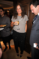 LULU KENNEDY at a dinner hosted by jewellers Damiani at The Connaught Hotel, London on 3rd February 2010.