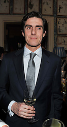 LORD DANIEL COMPTON at a dinner hosted by Edward Taylor and Alexandra Meyers in association with Johnnie Walker Blue Label held at Mark's Club, 46 Charles Street, London W1 on 26th April 2012.