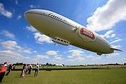 UK ENGLAND LONDON 22JUL08 - The 'Star over London' zeppelin takes off from Damyen Hall airfield near Upminster in east London.<br /> Photography by Jiri Rezac<br /> Tel 0044 07947 884 517<br /> www.linkphotographers.com